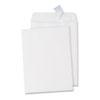 UNV40100 Pull & Seal Catalog Envelope, 9 x 12, White, 100/Box UNV 40100