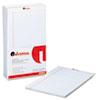 UNV45000 Perforated Edge Writing Pad, Wide/Margin Rule, Legal, White, 50-Sheet, Dozen UNV 45000