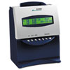 ACP010215000 ES1000 Totalizing Digital Automatic Payroll Recorder/Time Clock, Blue and Silver ACP 010215000