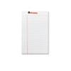 UNV46300 Perforated Edge Writing Pad, Jr. Legal Rule, 5 x 8, White, 50-Sheet, Dozen UNV 46300