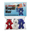 Adams Manufacturing All American Magnet Man® | www.SelectOfficeProducts.com