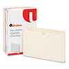 UNV74500 Economical File Jackets with 1 1/2 Expansion, Legal, 11 Point Manila, 50/Box UNV 74500