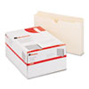 UNV76500 Economical File Jackets with Two Inch Expansion, Legal, 11 Point Manila, 50/Box UNV 76500
