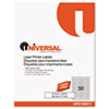 Universal Self-Adhesive File Folder Labels