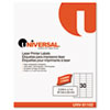 Universal® Clear Multiuse Permanent Self-Adhesive Labels | www.SelectOfficeProducts.com