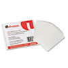 UNV84650 Clear Laminating Pouches, 5 mil, 2 1/8 x 3 3/8, Business Card Style, 25/Pack UNV 84650