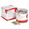 Universal® Vinyl Coated Wire Paper Clips | www.SelectOfficeProducts.com