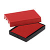 USSP4729RD Trodat T4729 Dater Replacement Pad, 1 9/16 x 2, Red USS P4729RD