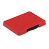 USSP5460RD Trodat T5460 Dater Replacement Ink Pad, 1 3/8 x 2 3/8, Red USS P5460RD