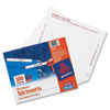 Laser/Inkjet Hanging File Folder Inserts, 1/3 Tab, 3 1/2 in, White, 100/Pack - AVE11137