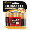 Coppertop Alkaline Batteries, AA, 12/Pack
