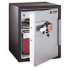 Electronic Safe, 2 ft3, 18-19/32w x 19-5/16d x 23-3/4h, Black/Gunmetal Gray - SENOA5848