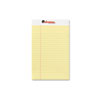Perforated Edge Writing Pad, Jr. Legal Rule, 5x8, Canary, 50-Sheet, Dozen