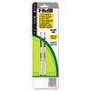 ZEB85412 Refill for F301, F301 Ultra, F402, 301A, Spiral Ballpoint, Med, Black, 2/Pack ZEB 85412