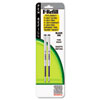 ZEB85512 Refill for F301, F301 Ultra, F402, 301A, Spiral Ballpoint, Fine, Black, 2/Pack ZEB 85512