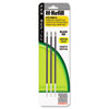 ZEB85913 H-Refills for Jimnie Clip Retractable Ballpoint, Medium, Black, 3/Pack ZEB 85913