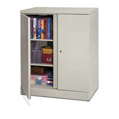 Basyx BSXC184236Q Easy-to-Assemble Storage Cabinet, 36w x 18d x 42-3/4h, Lig at Sears.com