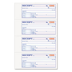 rent receipt books