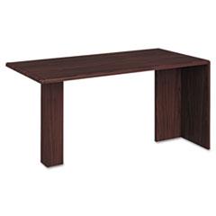 HON10726NN 10700 Series Peninsula, Wood Support Column, 60w x 30d x 29-1/2h, Mahogany HON 10726NN