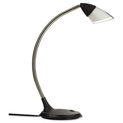 EVEHRGTL Glas LED Desk Light, 20 x 9, Chrome EVE HRGTL