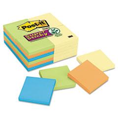 MMM65424SSCYN Office Pack, 3 x 3, Four Colors, 24 90-Sheet Pads/Pack MMM 65424SSCYN