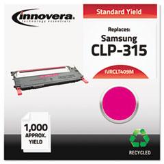 IVRCLT409M CLT409M Compatible, Remanufactured, CLT-M409S Laser Toner, 1000 Yield, Magenta IVR CLT409M