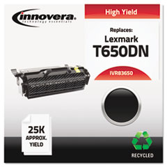 BSC Remanufactured T650H2 1A (T650DN) Toner, 25000