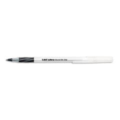 BICGSMG11BK Ultra Round Stic Grip Ballpoint Stick Pen, Black Ink, Medium, Dozen BIC GSMG11BK