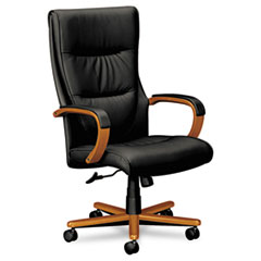 BSXVL844HSP11 basyx CHAIR,EXEC,HIBACK,BBCH/BK