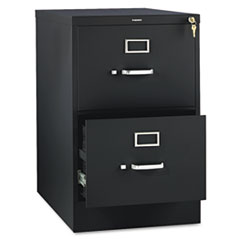HON312CPP 310 Series Two-Drawer, Full-Suspension File, Legal, 26-1/2d, Black HON 312CPP
