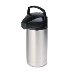 HORSV350 Commercial Grade Jumbo Airpot, 3.5 Liter, Stainless Steel Finish HOR SV350