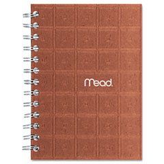 MEA45186 Recycled Notebook, 5 X 7, 80 Sheets, College Ruled, Perforated, Assorted MEA 45186