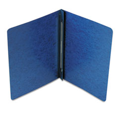 SMD81352 Side Opening PressGuard Report Cover, Prong Fastener, Letter, Dark Blue SMD 81352