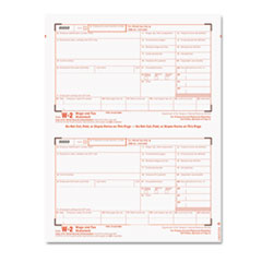 TOP22904KIT Tax Forms/W-2 Tax Forms Kit with 24 Forms, 24 Envelopes, 1 Form W-3 TOP 22904KIT