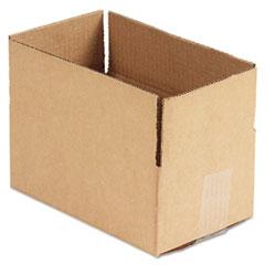 UNV456689 Corrugated Kraft Fixed-Depth Shipping Carton, 6w x 10l x 4h, Brown, 25/Bundle UNV 456689