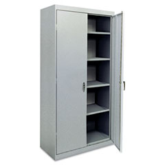 Assembled Welded Storage Cabinet, 36w x 24d x 78h, Multi Granite