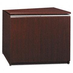 Milano Collection Storage Cabinet, 35-3/4w x 23-3/8d x 30-1/2h, Harvest Cherry
