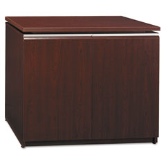 Milanoᄇ Collection Storage Cabinet, 33-7/8 x 21-3/8 x 25-1/8, Harvest Cherry