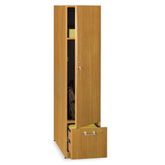 Quantum Series Tall Storage Tower, 15-3/4w x 23-1/8d x 67h, Modern Cherry