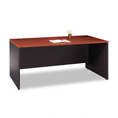 Series C Rectangular Desk, 72w x 29-3/8d x 29-7/8h, Hansen Cherry