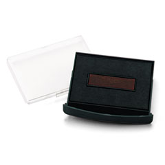 Replacement Ink Pad for 2000 PLUS Economy Self-Inking Dater, Black