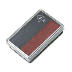 Replacement Ink Pad for 2000 PLUS Micro Date, Blue/Red