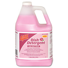 Dish Detergent, Pink Rose, 1 gal Bottle