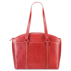 Abigail Business Tote, 16 1/2 x 13 1/2 x 5 1/4, Red