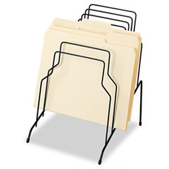 Step File, Eight Sections, Wire, 10 1/8 x 12 1/8 x 11 7/8, Black