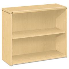 10700 Series Bookcase, 2 Shelves, 36w x 13-1/8d x 29-5/8h, Natural Maple - HON10752DD