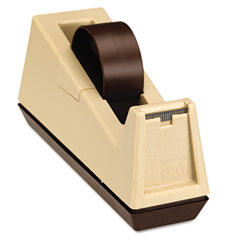 Heavy Duty Weighted Desktop Tape Dispenser, 3