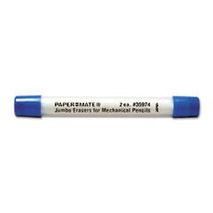 Mega Lead Mechanical Pencil Eraser Refills, 2/Pack