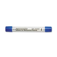 Technician/Ti/Silhouette Mechanical Pencil Eraser Refills, 5/Pack