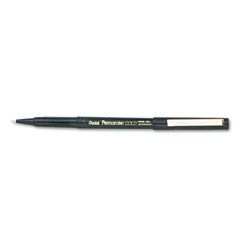 Superball Alloy Roller Ball Capped Pen, Black Ink, Extra Fine